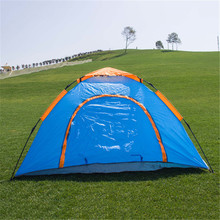 3-4 person professional outdoor camping tent, automatic tents camping outdoor
