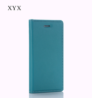 Well-protected magnetic flip case without snaps insert strong plastic PU for Allview A7 Lite leather cover case