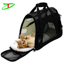 Multiple Pockets Comfort Sturdy Bag Dog Carry Tote Designer Pet Carrier Bag Wholesale