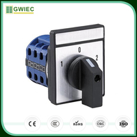 GWIEC Best Selling Products Different Types 3 Phase Electrical Manual Changeover Switches 25A