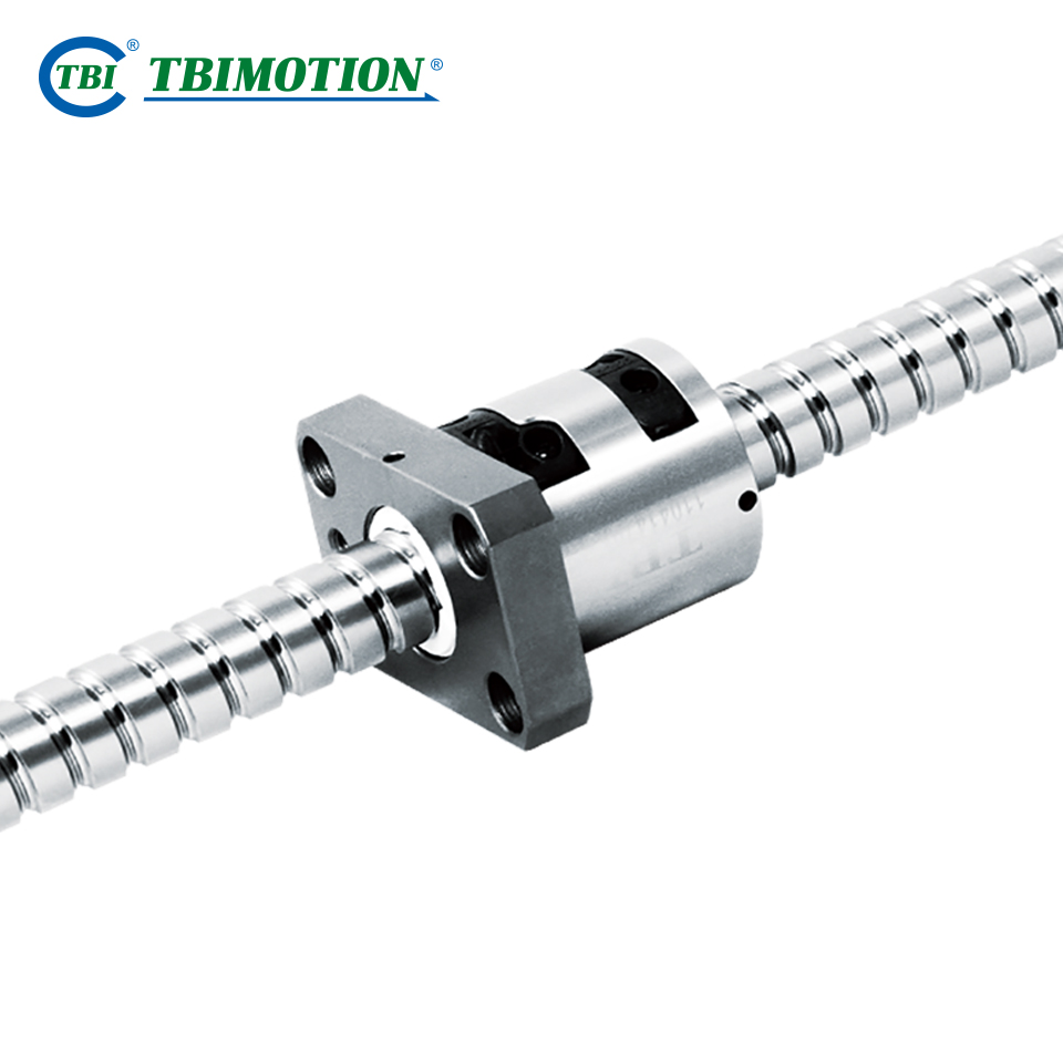 Iso14064 High Preload Induction Heating Hardening Ball Screw Rod