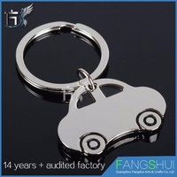 Low moq Best selling custom key chains with logo for cars
