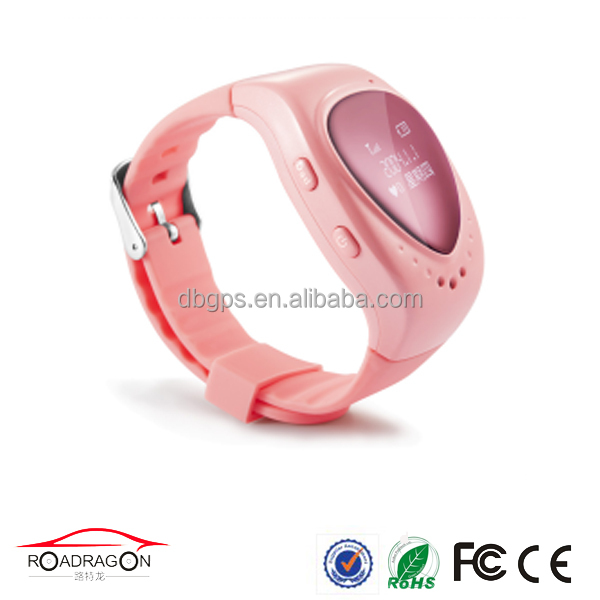 2016 New GSM WIFI Food-class Material Kids GPS Wristwatches Phone Magnetic Charging