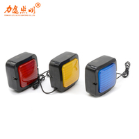 4 inch Square 18W LED Warning work light led strobe light car auto parts