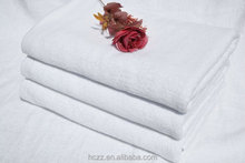 100% cotton white bath towel high quality
