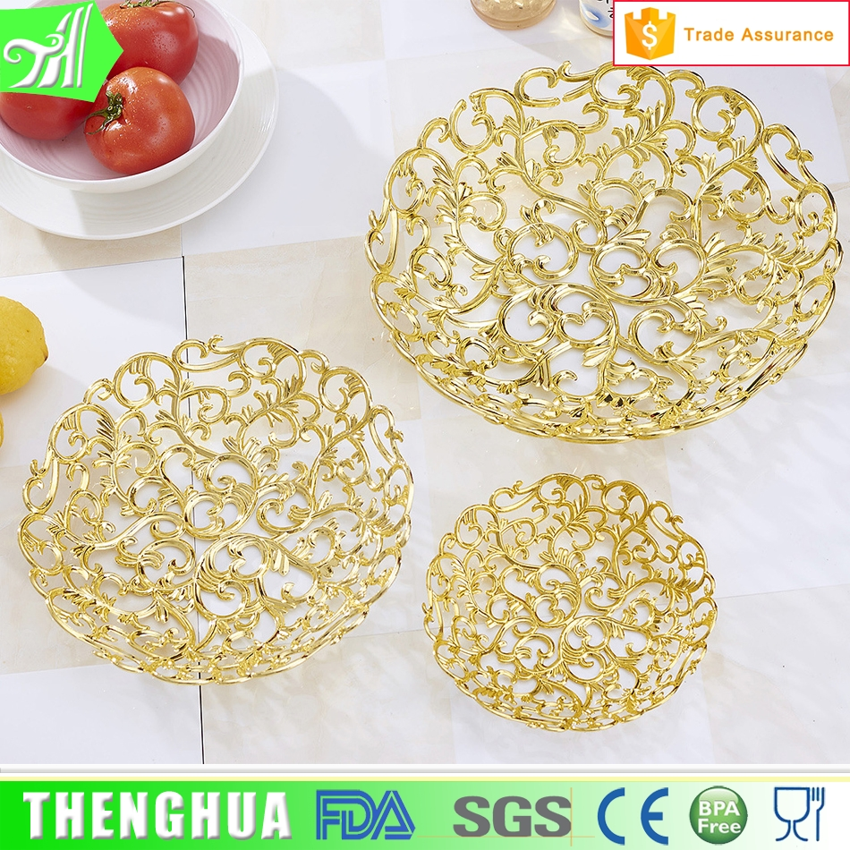 plate for wedding decoration cheap plastic fruit tray