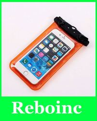 Wholesale Waterproof mobile phone bag for iphone 5 5s 4 4s for beach swimming diving