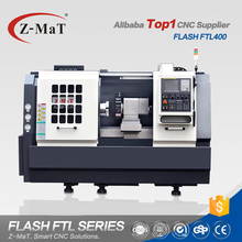 Chinese top manufacturer FTL400 linear guideway tailstock cnc lathe turning center