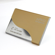 Metal Name card holder/ Metal Business card holder