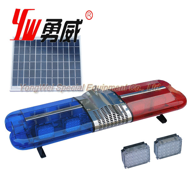 vehicle security lights led car strobe warning solar emergency light