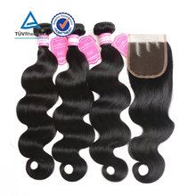 Factory Top Quality Body Wave Indian Remy Hair Wholesale Tape In human hair extension 3 bundles hair weaving
