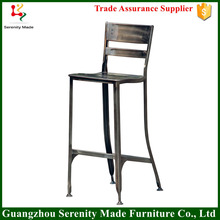 China Matel bar stool high chair supplier