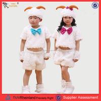 Children Stage Anime Cosplay Sheep Costume sheep costume for children Made in China PGCC-2310