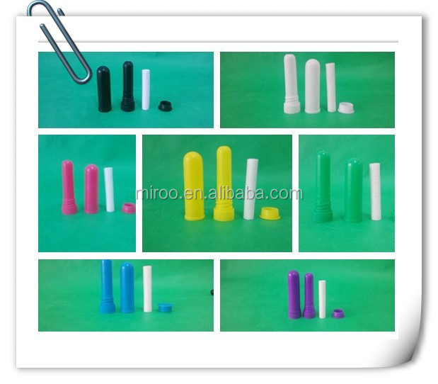 Free shipping <strong>100</strong> sets/lot Mix color Blank Nasal Inhaler with High quality cotton wicks (<strong>D</strong>)8mm*(L)51mm