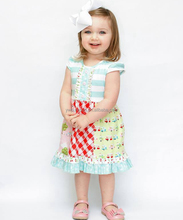 2018 baby girl party dress children frocks designs back to school girl dress