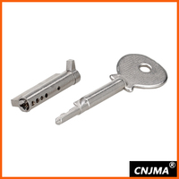MS108-35 brass sliding door key lock