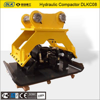 Hydraulic road compactor for KOMATSU PC200 excavator