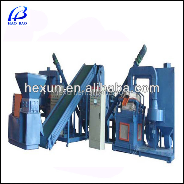 HW-1200 hot sale Waste Wire/Cable Recycling Machine Cooper Scrap Cable Granulator Machine cable making equipment