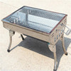 kitchen cooking commercial charcoal bbq grill CS0672