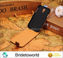 Ultra thin leather case s4 fashion genuine leather case for galaxy s4