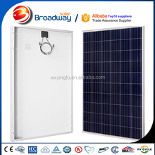 High quality polycrystalline silicon solar cell price 250w 260w 300w transparent chinese solar cell