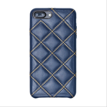 Shining Plaid Case for iPhone 6 Leather Case, Detachable 2-in-1 Leather Case for iPhone X.