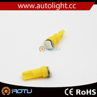 Good Quality Cheap 12V DC T5 1W LED Light car interior led lights Auto Dashboard supply various led light bulbs for cars