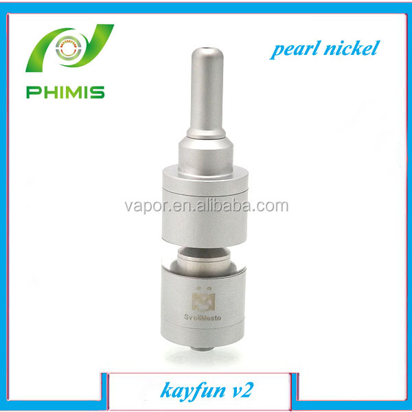 china manufacturer full mechanical brass/stainless steel kayfun v2 atomizer with top sale