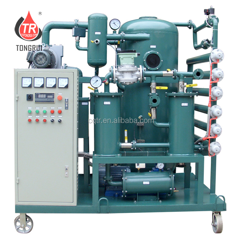 Portable Used Transformer Oil Filter Treatment Machine