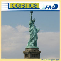 Professional reliable china consolidated shipping to New York, NJ USA
