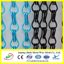new model simple latest aluminum chain curtain design for hall
