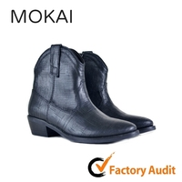 EDA 5003 Best-Selling Brand Custom High Quality Chunky Italian Ankle Boot