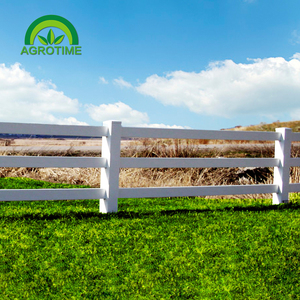 UV Proof Cheap Cattle Fencing Panels, Horse Rail Fence