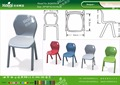 Kaiqi KQ60205A school furniture children plastic chairs different colors and sizes available