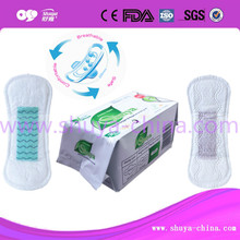 Ultra-soft cotton anion sanitary napkin (high-tech product possess 4 patents)