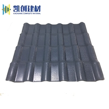 China supplier new material asa plastic resin sheet of roof tile