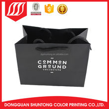 Colorful different types Natural Brown Kraft famous brand paper bag