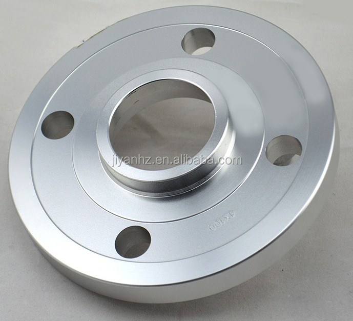 Natural finish aluminum 6061 6063 chrome plated round side flange widely use