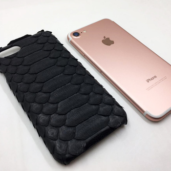 Luxury handmade Pyton phone case and mobile phone accessories for 6/6 Plus