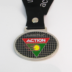 Good quality custom design metal enamel medal trophies and award for indoor sports