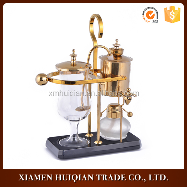 Royal Belgian Blalancing Syphon Coffee Makers Vaccum Brewer Machines For Home Decor
