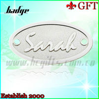 Cheapest metal cool car badge/metal badge/custom metal badges for sales