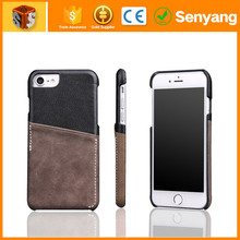 2017 New design top sale for iphone 6 genuine leather phone case