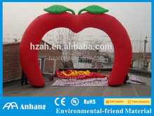 Garden Red Inflatable Apple Arch for Sale