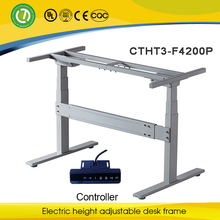 Counter force height adjustable mechanisms & electric height adjustable computer desk frame& button adjustable office table