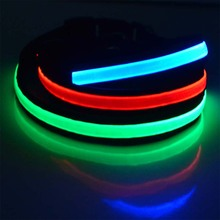 China pet products manufacturer dogs accessories in china,waterproof rechargeable led dog collar