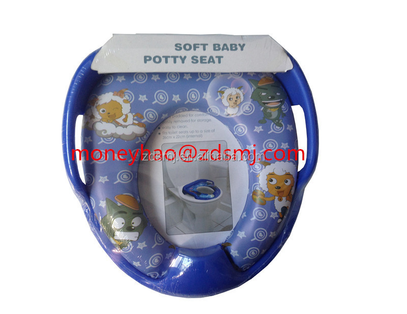 children convenient travel toilet seat potty seat cover soft toilet seat