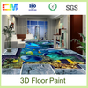 Concrete Floor paint Liquid 3D Epoxy Flooring Coating Supplier