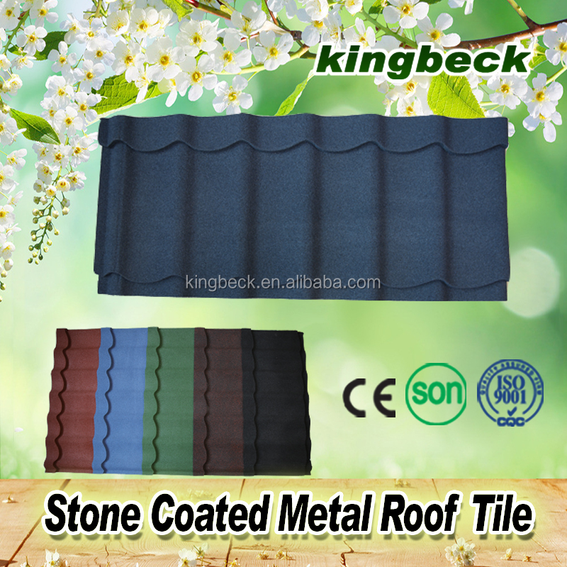 stone coated metal roofing shingles/stone coated metal roofing material