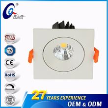 3 Years Warranty 220V 3Inch 7W/9W Recessed Ceiling Light Lamp Led Lighting Fixture